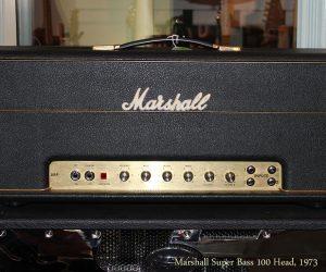 1973 Marshall Super Bass 100 Head (SOLD)