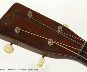 1945 Martin 0-17T Tenor Guitar (consignment)  SOLD