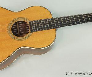 2009 C. F. Martin 0-28VS  SOLD
