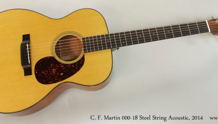 C.-F.-Martin-000-18-Steel-String-Acoustic-2014-Full-Front-View