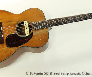 SOLD!!! C. F. Martin 000-18 Steel String Acoustic Guitar, 1956