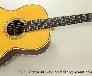 ❌SOLD❌  C. F. Martin 00028vs, 2014