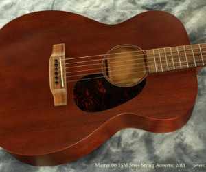 2011 Martin 0015M Steel String Acoustic Guitar SOLD