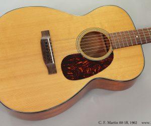 1962 C. F. Martin 00-18 (SOLD)