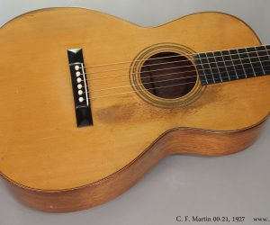 1927 C. F. Martin 00-21  SOLD