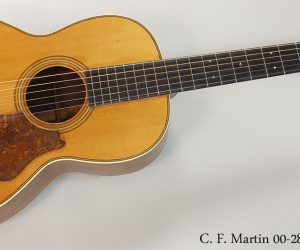 ❌SOLD❌ 1929 C. F. Martin 00-28 Steel String Acoustic Guitar