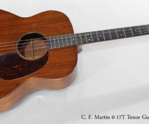 SOLD!!! 1937 C. F. Martin 0-17T Tenor Guitar