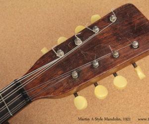 1921 Martin A-Style Oval Hole Mandolin SOLD