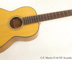 SOLD!  C.F. Martin O-16 NY Acoustic Guitar, 1976