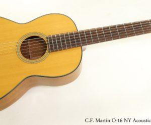 SOLD!  C.F. Martin O-16 NY Acoustic Guitar, 1976