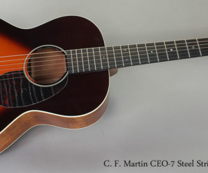 Out Of Stock - C. F. Martin CEO-7 Steel String Guitar