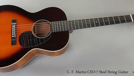 C.-F.-Martin-CEO-7-Steel-String-Guitar-Full-Front-View