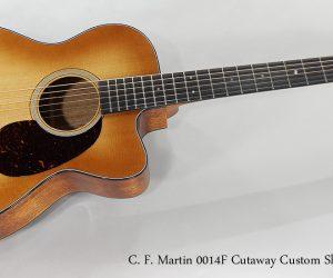 SOLD!!! 2017 C. F. Martin 0014F Cutaway Custom Shop Guitar
