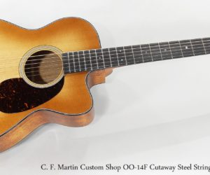 Sold!  C. F. Martin 00-14F Cutaway Custom Shop Guitar, 2017