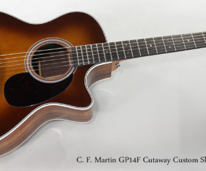 2017 C. F. Martin GP14F Cutaway Custom Shop Guitar