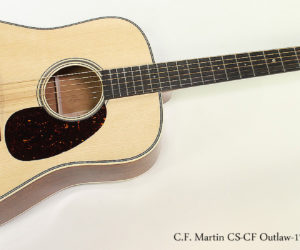 2017 C.F. Martin CS-CF Outlaw-17 LTD