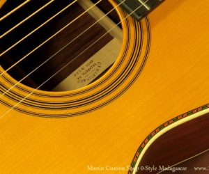 Martin Custom Shop Style 0 12-Fret Madagascar Rosewood SOLD