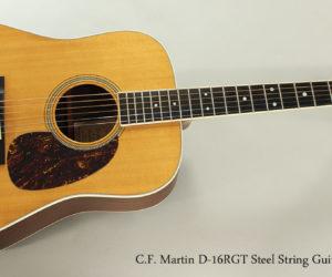 SOLD!!! 2002 C.F. Martin D-16RGT Steel String Guitar