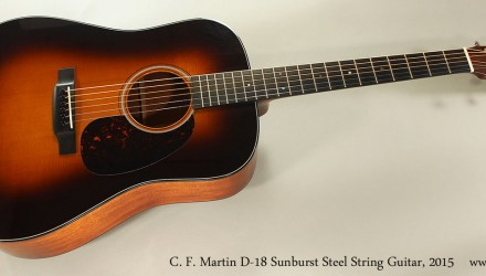 C.-F.-Martin-D-18-Sunburst-Steel-String-Guitar-2015-Full-Front-View