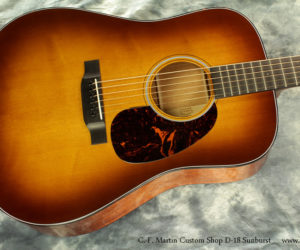 Martin Custom Shop D18 Sunburst SOLD