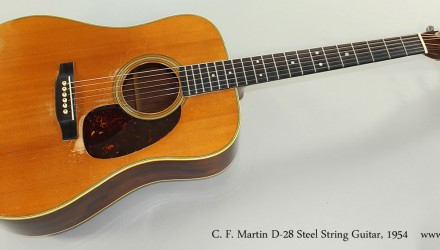 C.-F.-Martin-D-28-Steel-String-Guitar-1954-Full-Front-View