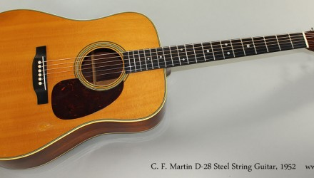 C.-F.-Martin-D-28-Steel-String-Guitar-1952-Full-Front-View