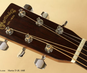 1998 Martin D-28 Dreadnought (consignment)  SOLD