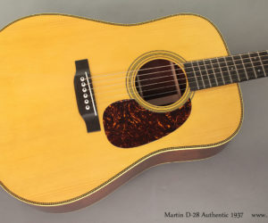(Discontinued) Martin D-28 Authentic 1937