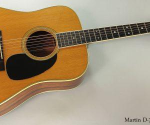 1972 Martin D-35  SOLD