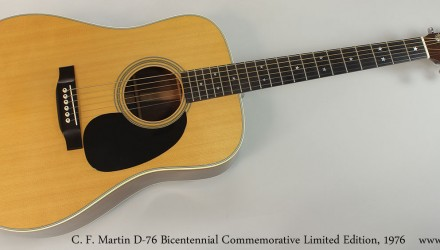 C.-F.-Martin-D-76-Bicentennial-Commemorative-Limited-Edition-1976-Full-Front-View