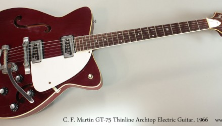 C.-F.-Martin-GT-75-Thinline-Archtop-Electric-Guitar-1966-Full-Front-View