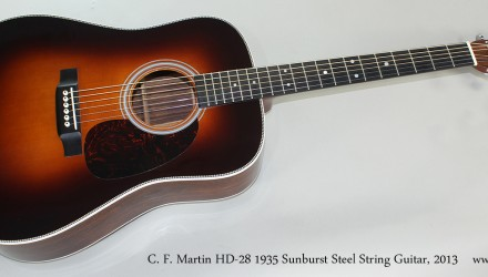 C.-F.-Martin-HD-28-1935-Sunburst-Steel-String-Guitar-2013-Full-Front-View