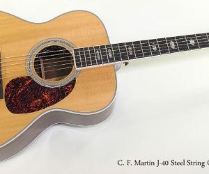 SOLD!!! 2010 C. F. Martin J-40 Steel String Guitar