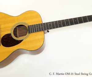 ❌ Sold ❌ C. F. Martin OM-21 Steel String Guitar, 2012