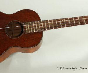 SOLD!!! 1950s C. F. Martin Style 1 Tenor Ukulele