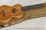 NO LONGER AVAILABLE! Late 1920s C. F. Martin Style 2-K Koa Soprano Ukulele