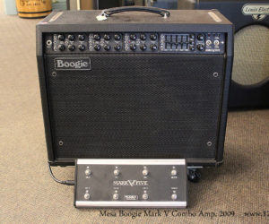 SOLD !! 2009 Mesa Boogie Mark V Combo Amp