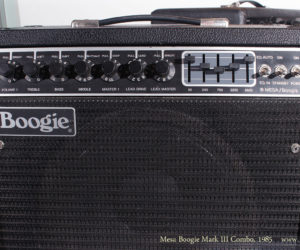 1985 Mesa Boogie Mark III Combo Amplifier (consignment)  SOLD