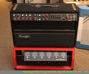 SOLD!!! Mesa Boogie Mark IV Long Head Tube Amp with Custom Cab, 2001
