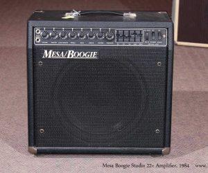 1984 Mesa Boogie .22 Studio+ Amplifier  SOLD