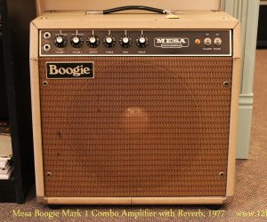 SOLD!!! 1977 Mesa Boogie Mark 1 Combo Amplifier