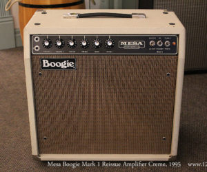 SOLD!!  1995 Mesa Boogie Mark 1 Reissue Amplifier Creme