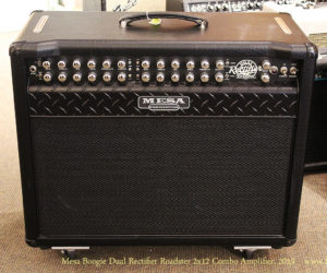 SOLD! 2015 Mesa Boogie Dual Rectifier Roadster 2x12 Combo Amplifier