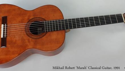 Mikhail-Robert-Marah-Classical-Guitar-1991-Full-Front-View