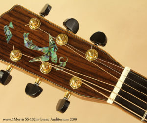 2009 Morris SS-102iii Grand Auditorium (consignment)  SOLD
