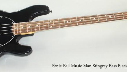 Ernie-Ball-Music-Man-Stingray-Bass-Black-2011-Full-Front-View