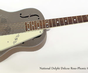 SOLD!!! 2004 National Delphi Deluxe Reso-Phonic Guitar