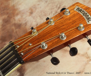 2007 National Style 0-14 Dueco Resophonic Guitar (consignment) SOLD