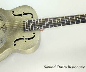 SOLD!! 2013 National Dueco Resophonic Guitar