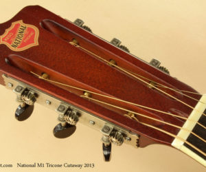 2013 National M1 Tricone Cutaway  SOLD